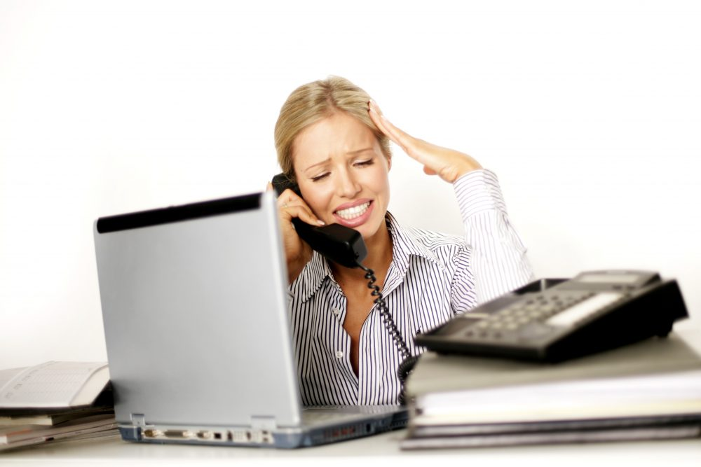 Call Reluctance?  Does Your Phone Weigh 500 Pounds When You Have to Make Prospecting Calls?